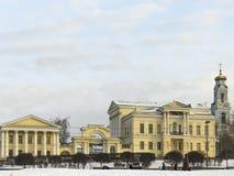 Kirche auf Blut, Jekaterinburg stockbild