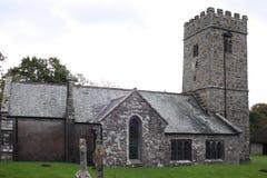 Kirche auf Dartmoor, Devon, England Stockbilder