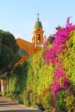 Kirche auf dem Schlosshügel, Nizza, Frankreich Lizenzfreie Stockfotografie