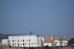 Kirche auf der Insel Lizenzfreie Stockbilder