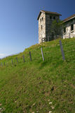 Kirche auf einem Gipfel 2 Lizenzfreies Stockfoto