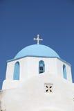 Kirche auf Paros Insel Lizenzfreie Stockbilder