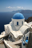 Kirche auf Santorini Lizenzfreie Stockfotografie