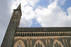 Kirche auf Zanzibar Lizenzfreies Stockfoto