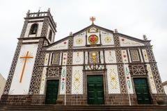 Kirche in Azoren-Inseln, Portugal lizenzfreies stockfoto