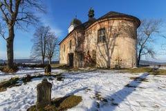 Kirche in Böhmen stockbilder