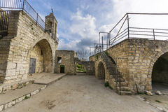 Kirche Baram Maronites Lizenzfreie Stockfotos