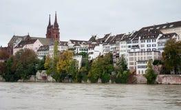 Kirche Basel-Munster Stockbilder