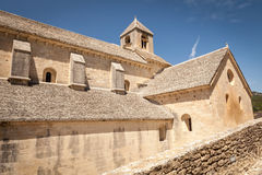 Kirche bei Abbaye de Senanque, Provence, Frankreich Stockbild