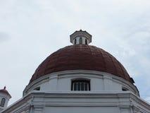Kirche Blenduk in Semarang Stockbilder