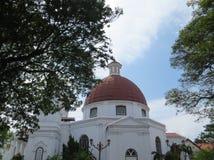 Kirche Blenduk in Semarang Stockfoto