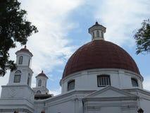 Kirche Blenduk in Semarang Lizenzfreie Stockbilder