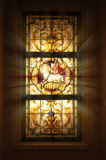 Kirche-Buntglas-Fenster Lizenzfreie Stockfotografie