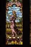 Kirche-Buntglasfenster Lizenzfreie Stockfotos
