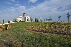 Kirche, Castro Marim stockfotos