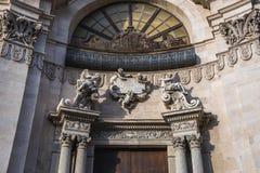 Kirche in Catania Stockfotografie
