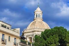 Kirche in Catania Lizenzfreie Stockbilder