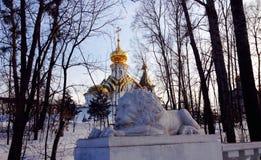 Kirche in Chabarowsk Lizenzfreie Stockbilder