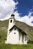 Kirche Chiesa-enges Tal Immacolata di Viera in Livigno, Italien Stockfoto