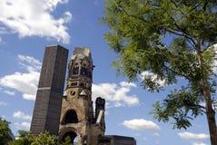 Kirche de Gedachtnis em Berlim Fotos de Stock Royalty Free