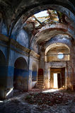 17. Kirche in den Ruinen Lizenzfreie Stockfotografie