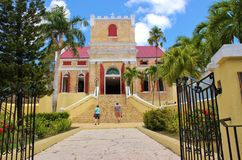 Kirche in den Tropen Lizenzfreies Stockfoto