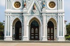 Kirche der Anbetung bei Thailand stockbild
