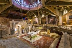 Kirche der Ankündigung oder die Basilika der Ankündigung in der Stadt von Nazaret in Galiläa Nord-Israel stockfoto