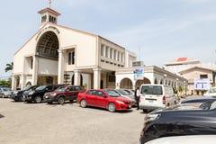 Kirche der Annahme, Falomo, Ikoyi Lagos Nigeria lizenzfreie stockbilder
