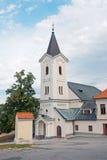Kirche der Annahme, Nitra Stockbild