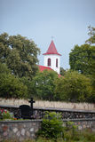 Kirche der Annahme von gesegneten Jungfrau Maria Stockbild