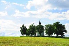 Kirche der Bäume Lizenzfreie Stockfotografie