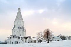 Kirche der Besteigung lizenzfreies stockbild