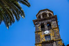 Kirche der Concepción, San Cristobal de La Laguna, Santa Cruz de Tenerife, Spanien lizenzfreie stockbilder