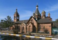 Kirche der Darstellung der Jungfrau stockbilder