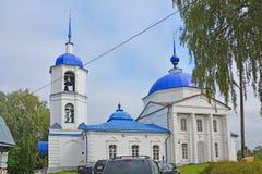 Kirche der Darstellung des Lords in Pereslavl-Zalessky, Russland Lizenzfreies Stockbild