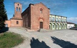 Kirche der des Heiligen Ippolito und Biagio Gemeinde Stockbild