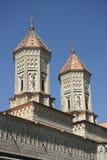 Kirche der drei Hierarchs in Iasi (Rumänien) Stockbilder