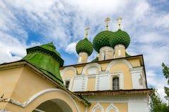 Kirche der Enthauptung von Johannes der Täufer des 17. Jahrhunderts, Uglich, Russland Lizenzfreie Stockfotos