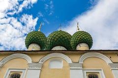 Kirche der Enthauptung von Johannes der Täufer des 17. Jahrhunderts, Uglich, Russland Lizenzfreie Stockbilder