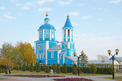Kirche der Fürbitte der Mutter des Gottes Stockbild