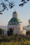 Kirche der Geburt Christi der gesegneten Jungfrau, Moskau-Region, vil Stockfotos