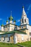 Kirche der Geburt Christi von Johannes der Täufer des 17. Jahrhunderts, Uglich, Russland Stockbild