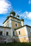 Kirche der Geburt Christi von Johannes der Täufer des 17. Jahrhunderts, Uglich, Russland Stockfotos