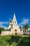 Kirche der Geburt Christi von Johannes der Täufer des 17. Jahrhunderts, Uglich, Russland Stockfoto