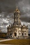 Kirche der gesegneten Jungfrau Stockbild