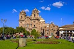 Kirche der Gesellschaft von Jesus in Cusco Lizenzfreie Stockbilder