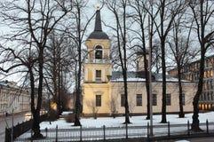 Kirche der Heiligen Dreifaltigkeit in Helsinki Lizenzfreies Stockfoto