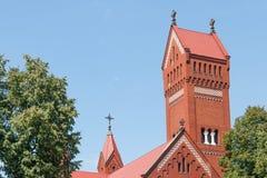 Kirche der Heiliger Simon und Helena Lizenzfreies Stockfoto