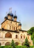 Kirche der Ikone unserer Dame von Kasan in Kolomenskoye Lizenzfreies Stockfoto